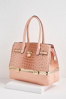 ostrich trunk bag