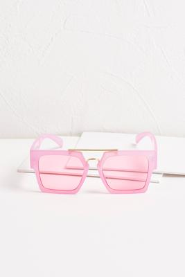 neon square sunglasses s