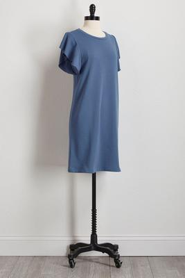 flutter sleeve athleisure dress