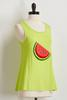Yarn Textured Watermelon Tank
