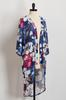 Floral Mesh Kimono