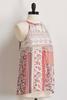 Crochet Floral Patchwork Halter Top