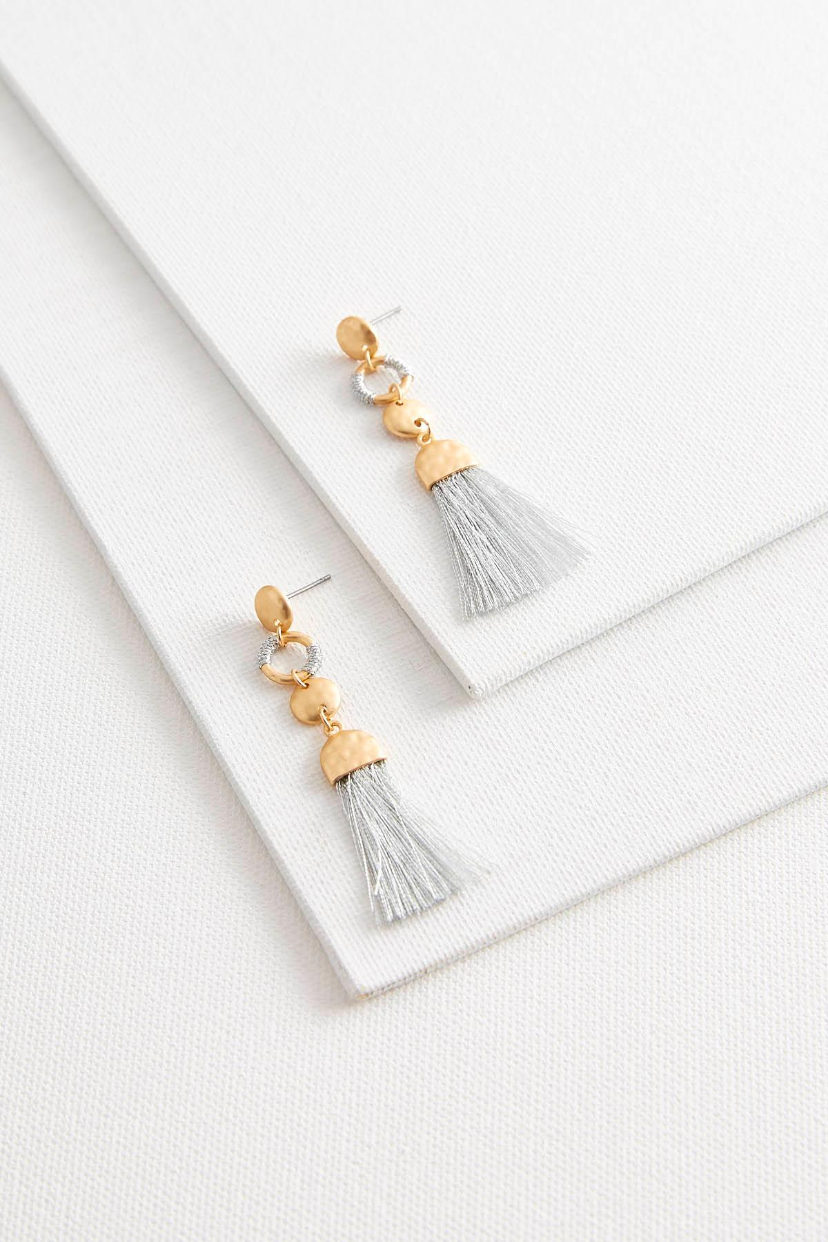 Two- Toned Earrings