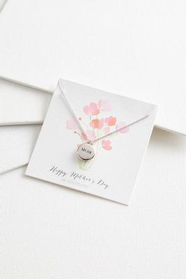 mother`s day pendant necklace