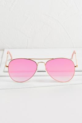 pink gradient aviators