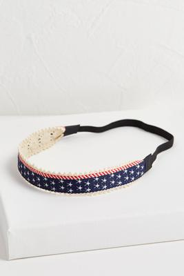 stars and stripes head band