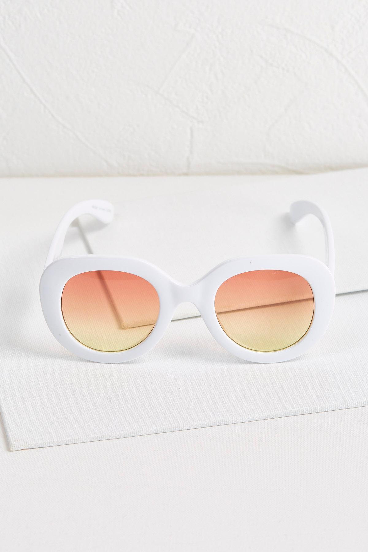 Pure White Sunglasses