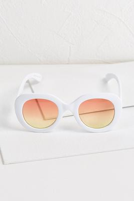 pure white sunglasses