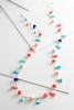 Long Pom- Pom And Tassel Necklace