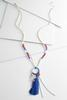 Patriotic Cluster Tassel Necklace