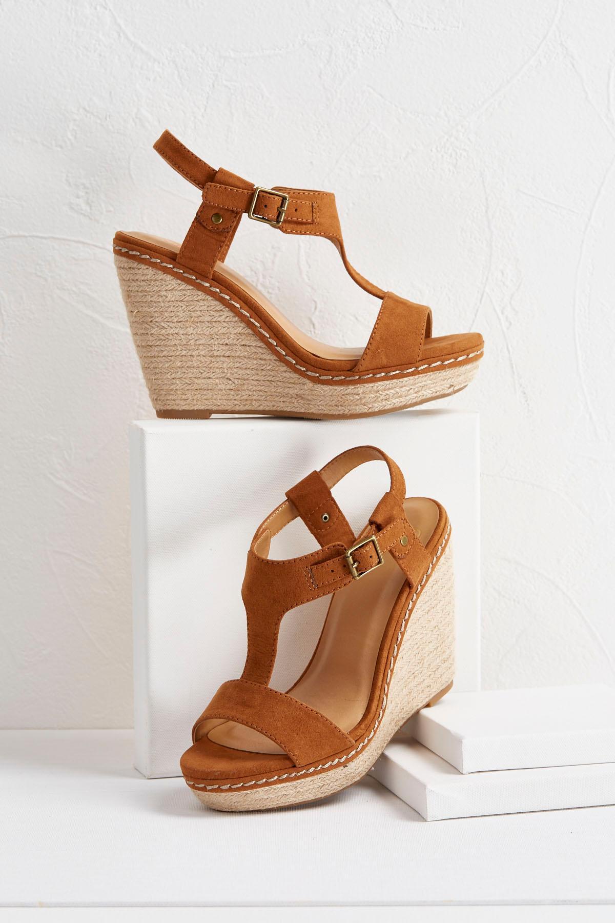 Espadrille T- Strap Sandals