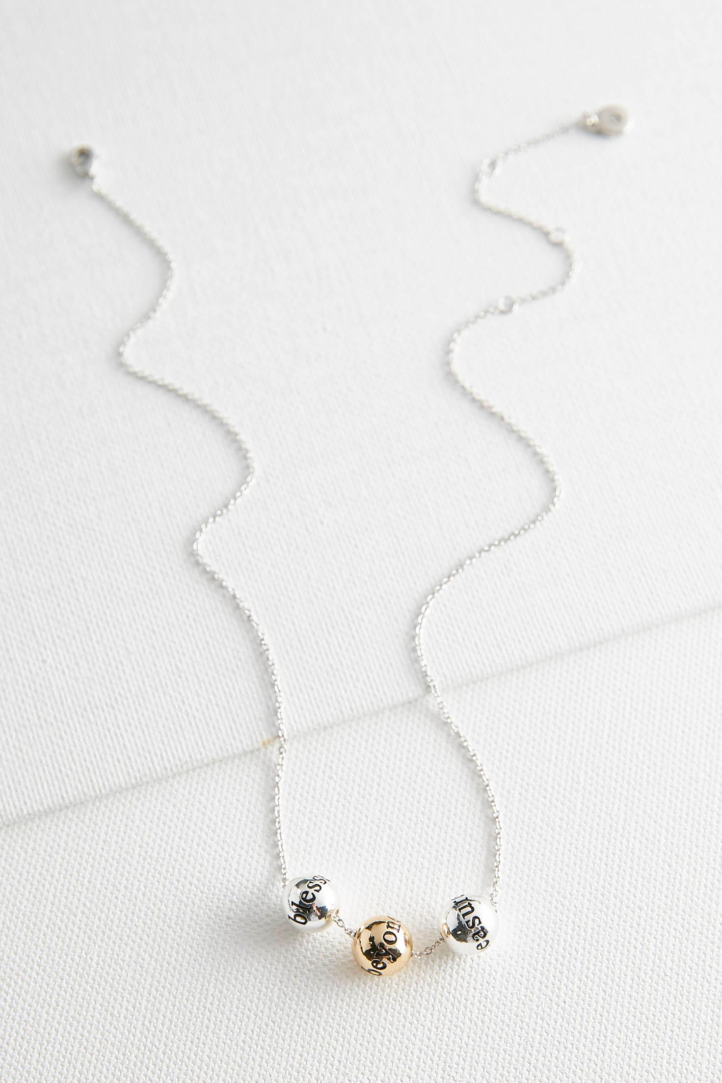 Blessed Beyond Measure Necklace