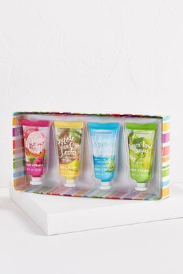 summer lovin` hand cream set