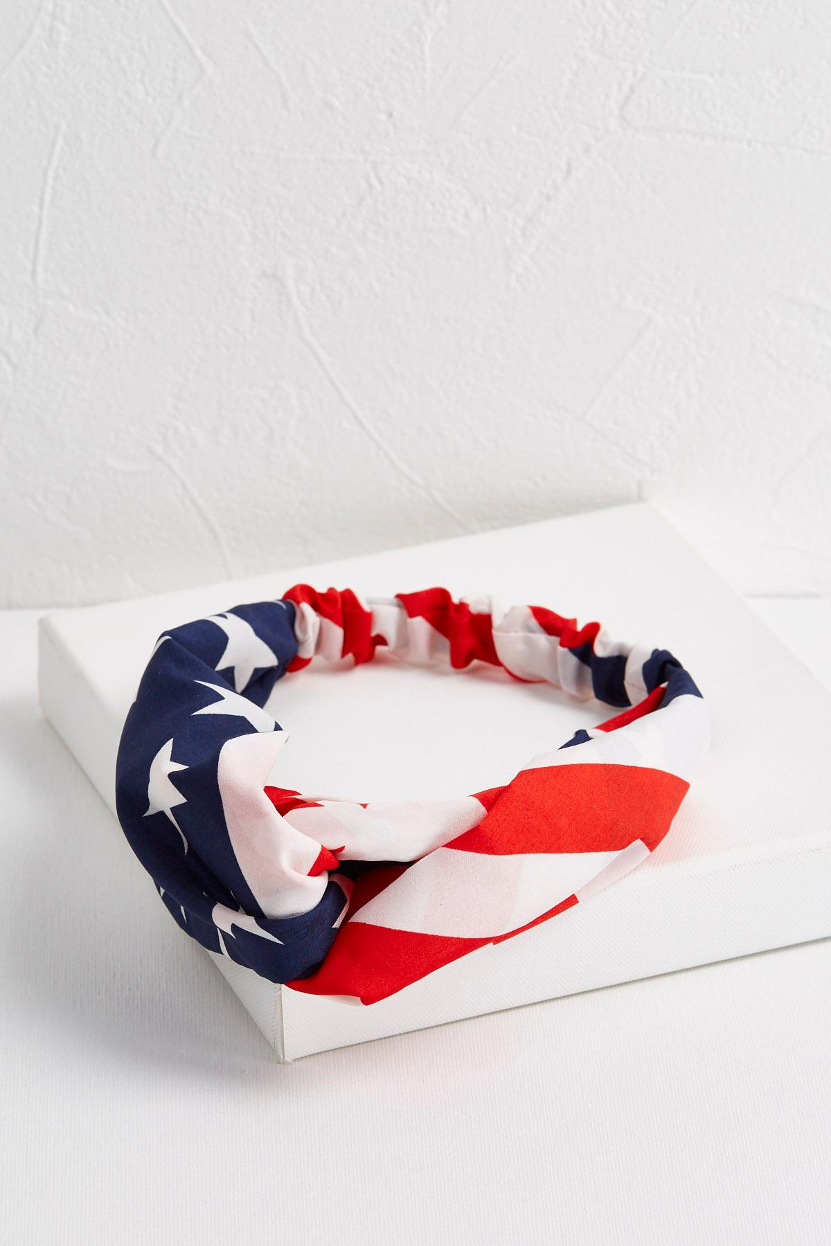 Stars And Stripes Twisted Head Wrap