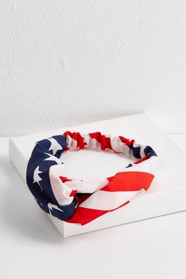stars and stripes twisted head wrap s