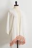Crepe Tasseled Kimono