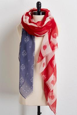 american pie oblong scarf