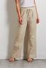 Linen Wide Leg Beach Pants