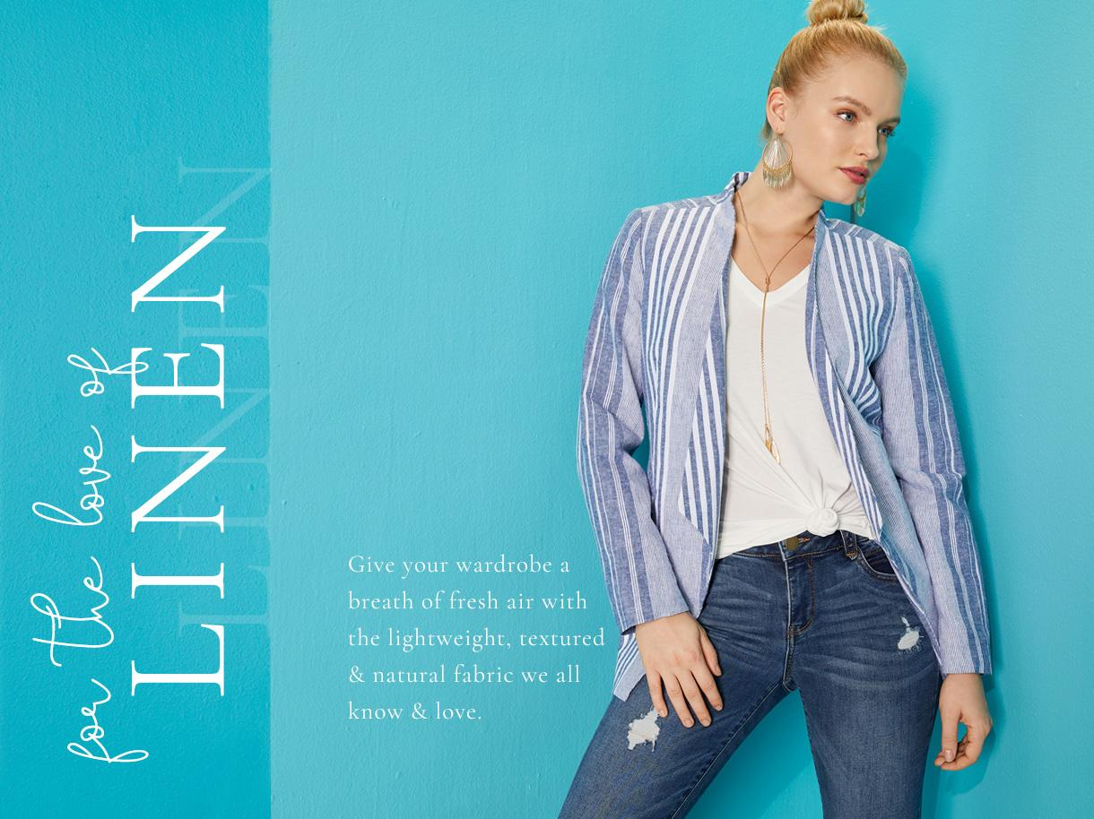 For the Love of Linen collection
