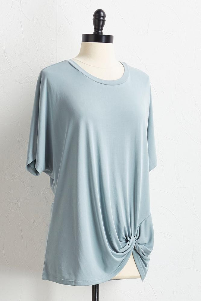 Knotted Silk Wash Tunic