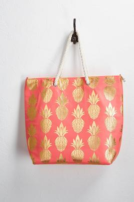 pineapple canvas tote s