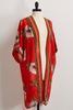 Bordered Bloom Kimono