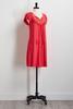 Flutter Sleeve Lace Yoke Dress