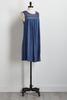 Faded Dye Lace Yoke Dress