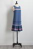 Ric Rac Embellished Shift Dress