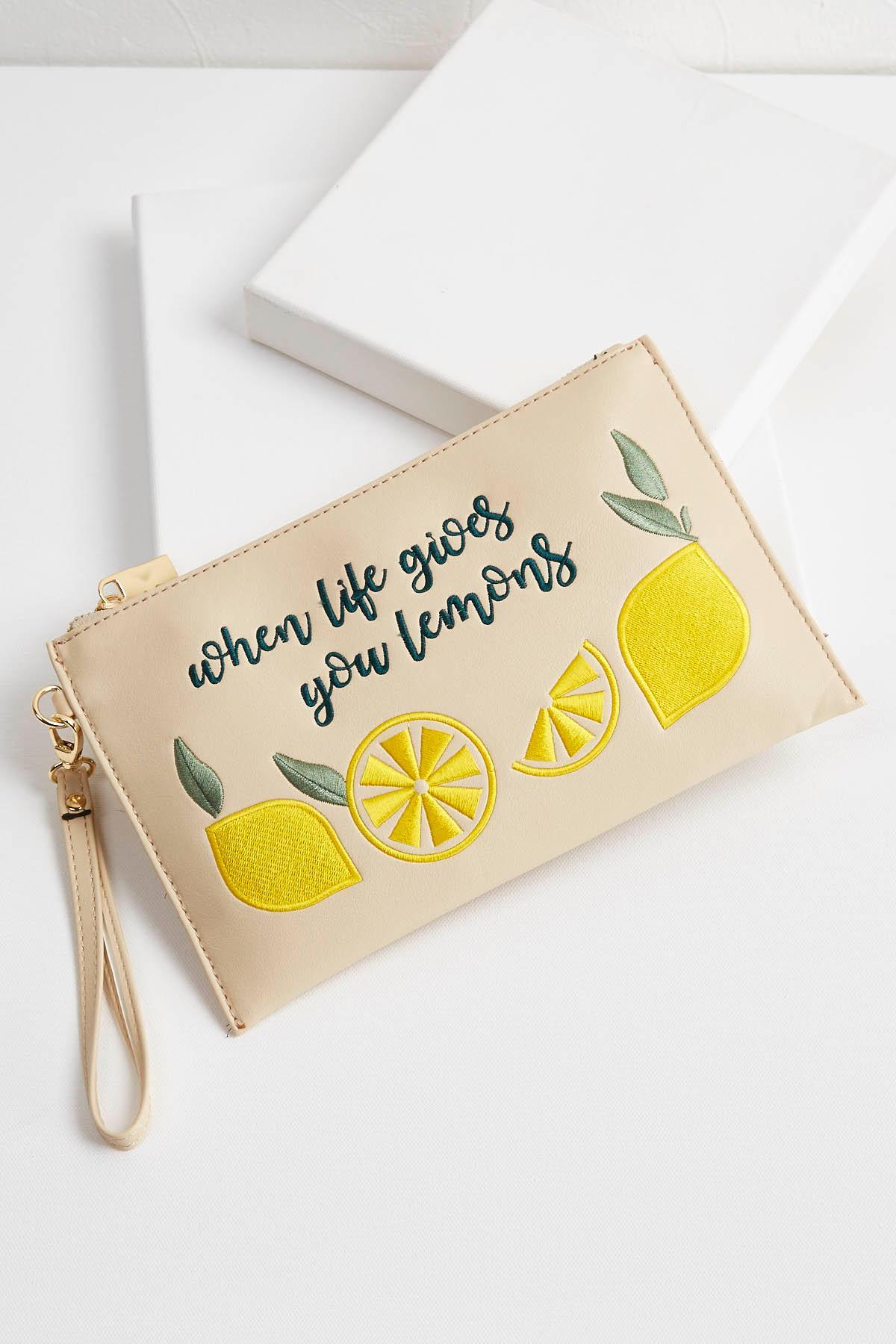 When Life Gives You Lemons Wristlet
