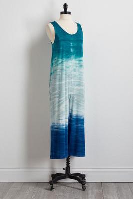 cropped tie dye jumpsuit