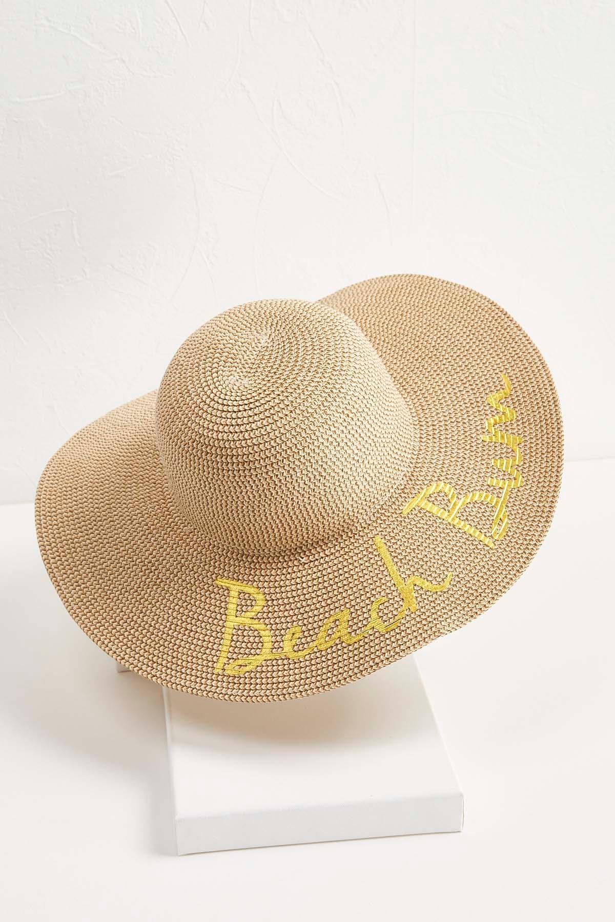 Metallic Beach Bum Sun Hat