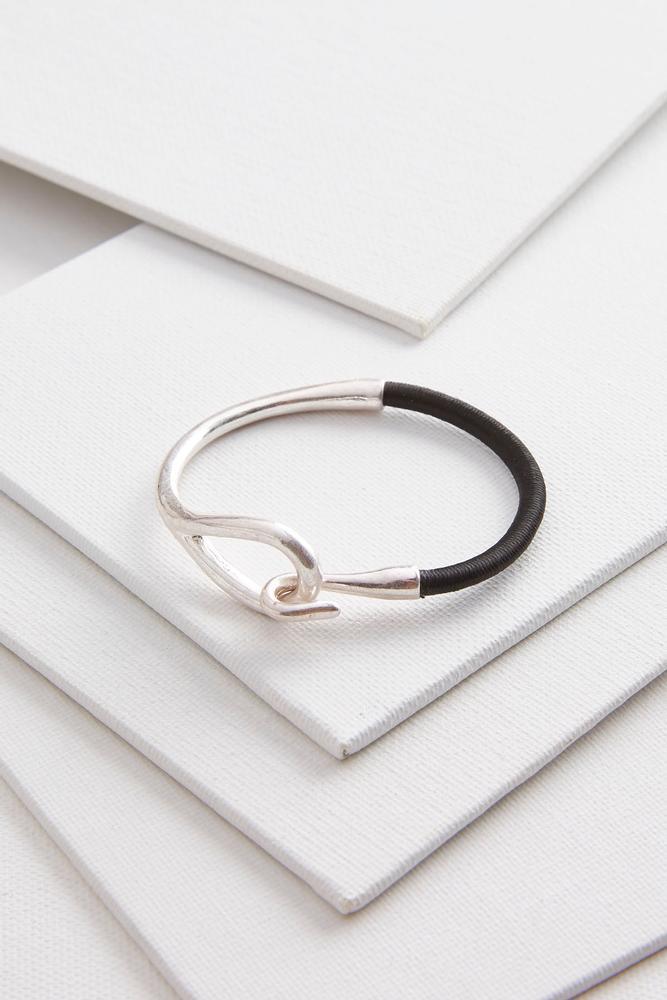 Metal Hook Cord Bracelet