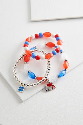 liberty stretch bracelet set