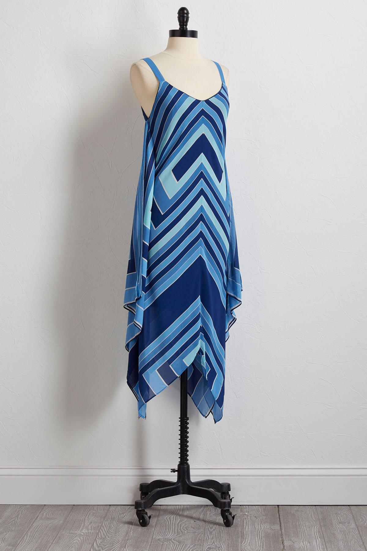 Coastal Hanky Hem Dress