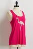 Flamingo Crochet Tank