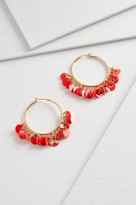 shaky sequin hoops s