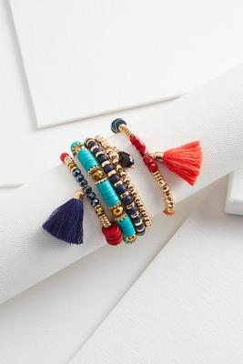 southwestern bead bracelet set