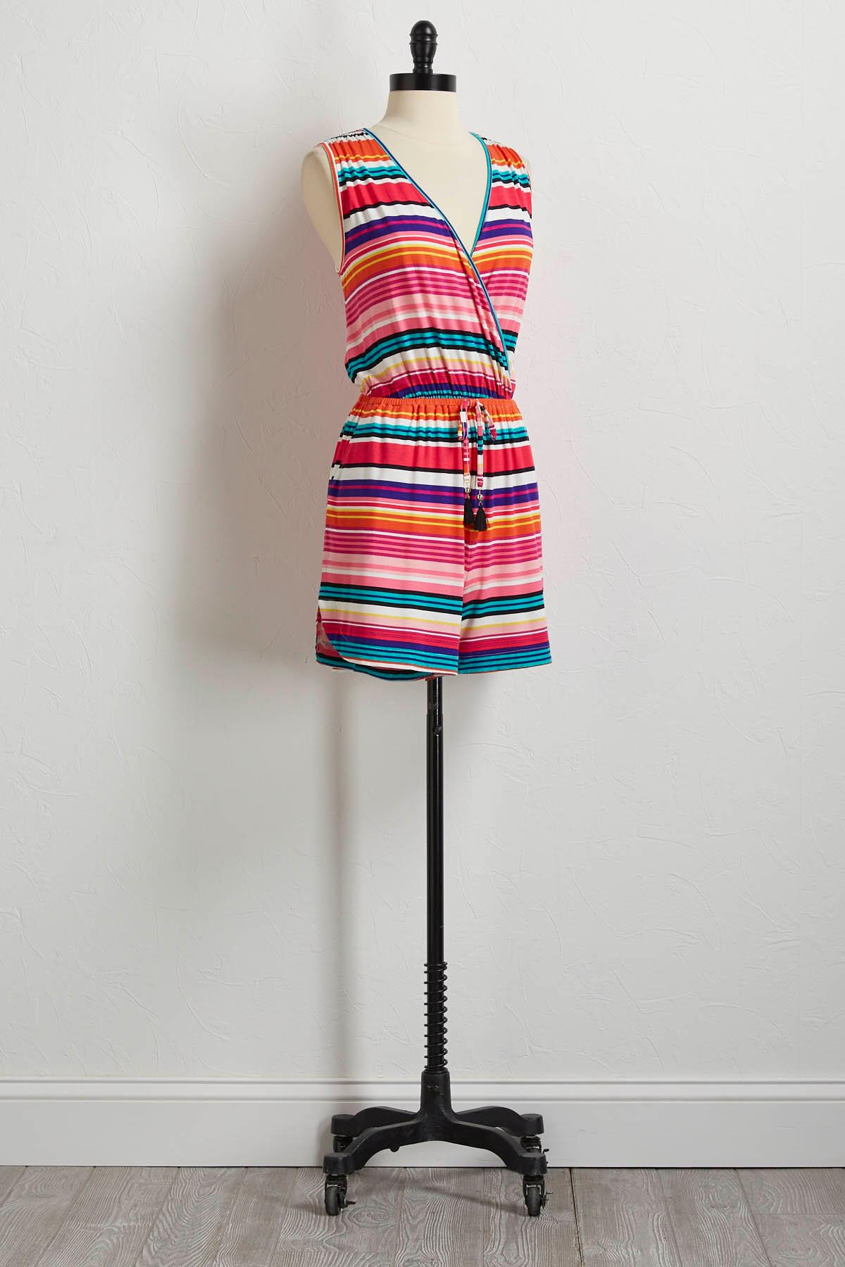 Beaming Stripe Romper