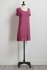 Purple Faded Wash T- Shirt Dress