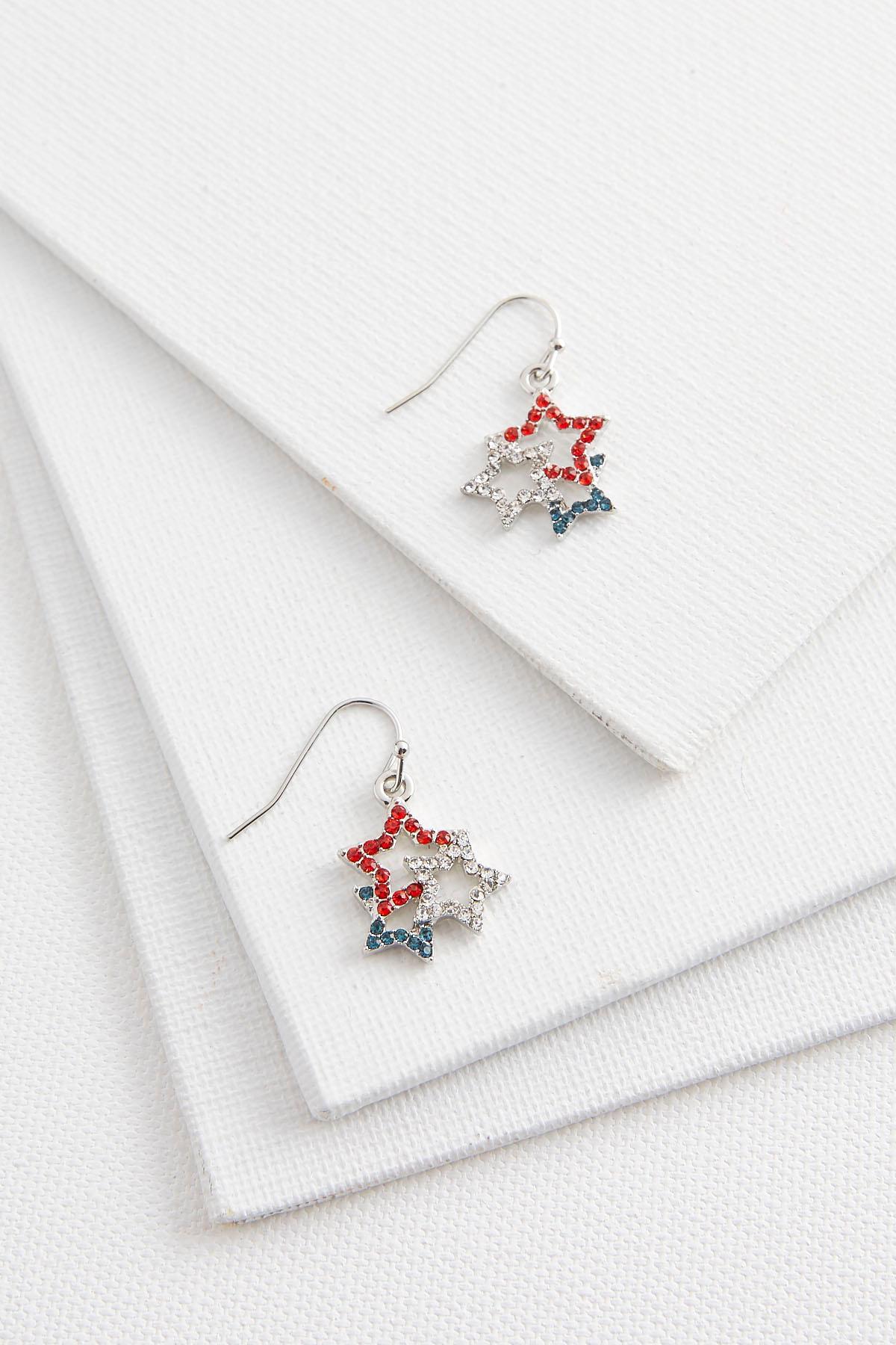 Interlocking Star Earrings