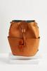 Pom- Pom Crossbody Bucket Bag