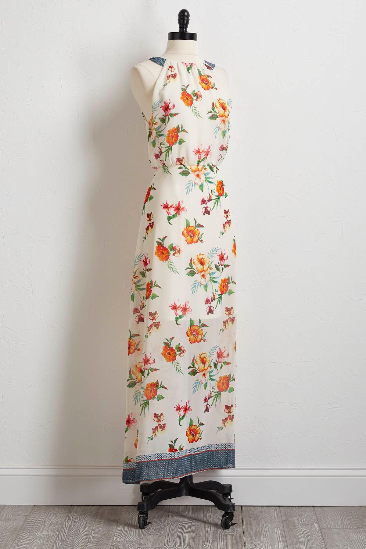 Floral Breeze Maxi Dress