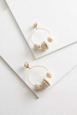 seed bead ball hoops s