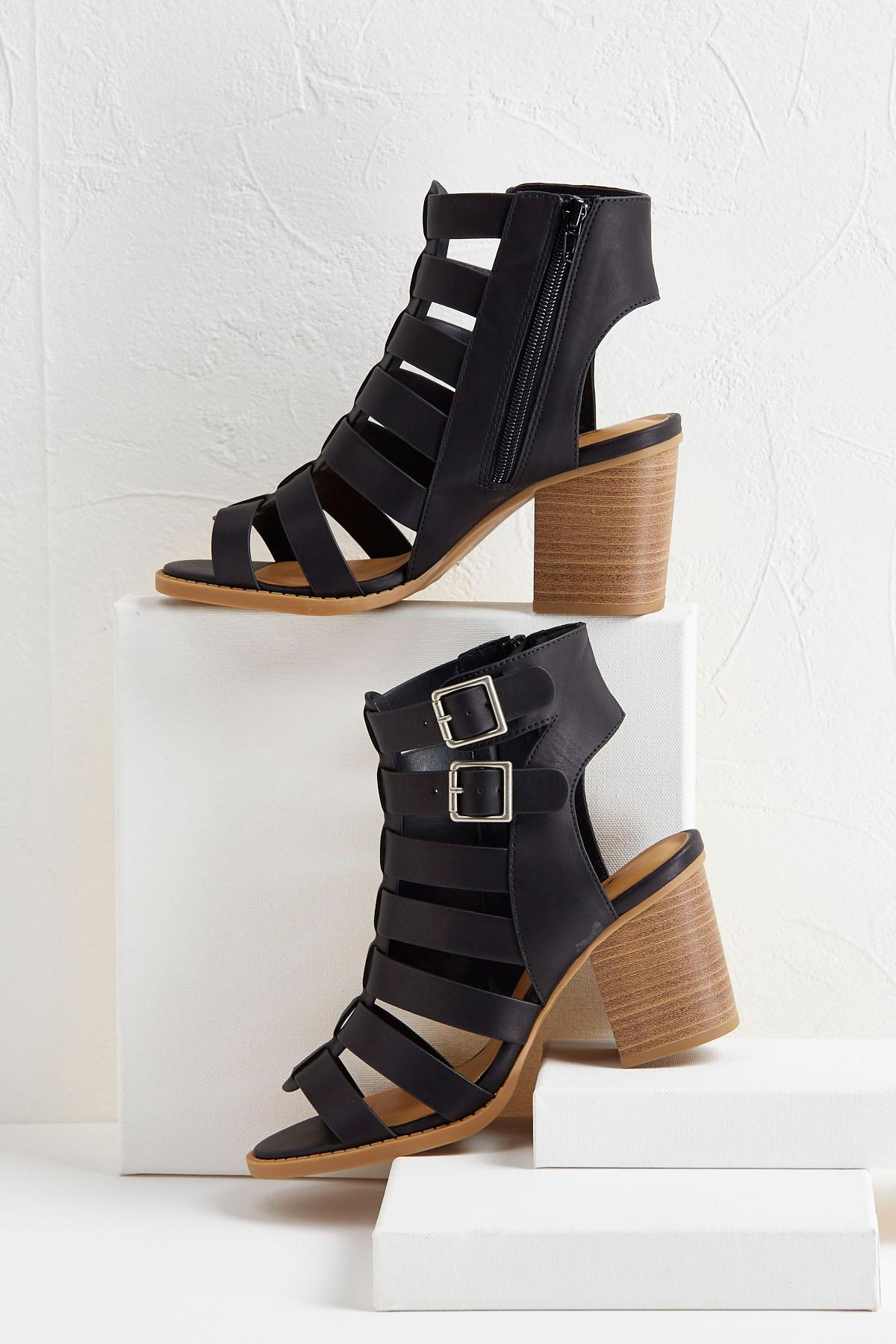 Caged Buckle Shooties