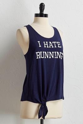 hate running tank