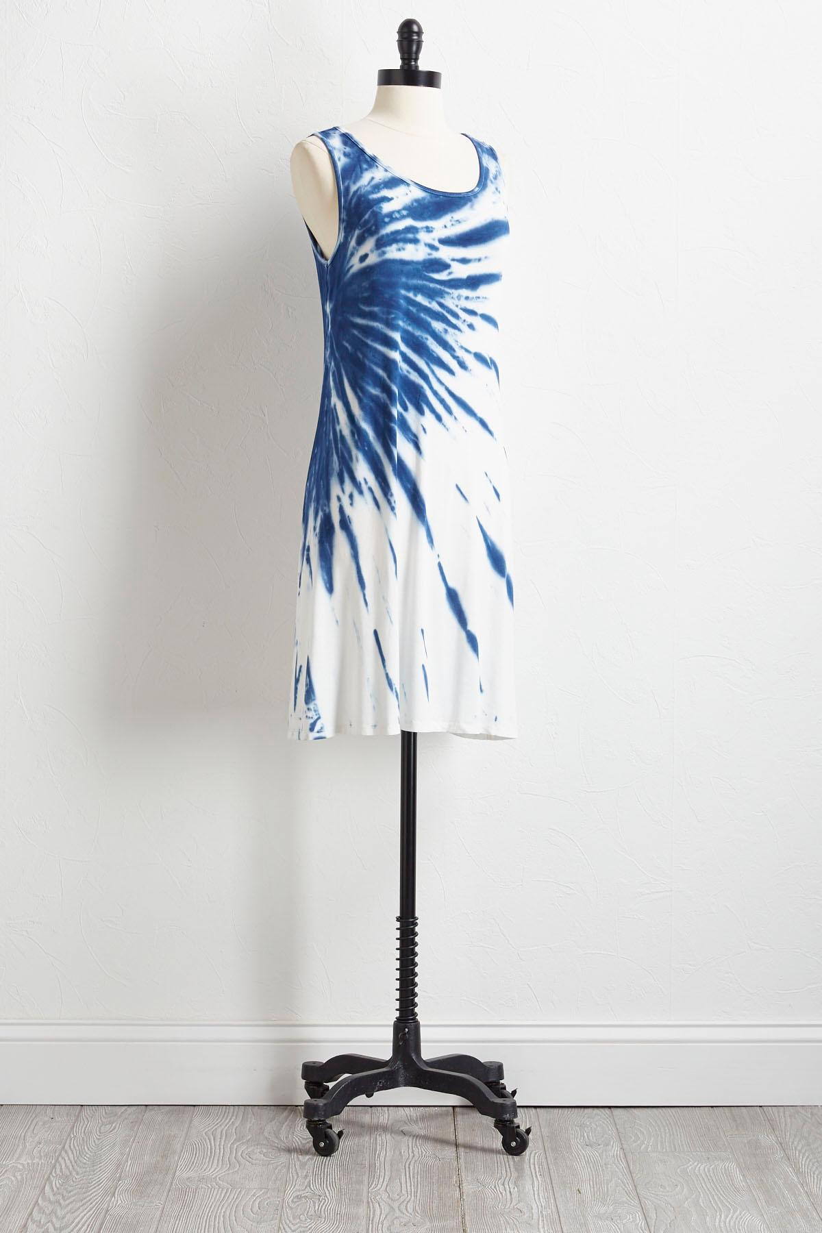 Tie Dye T- Shirt Dress