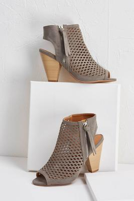 diamond perforated shooties