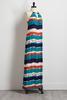 Tie Dye Stripe Maxi Dress