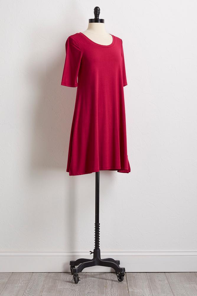 Round Neck T- Shirt Dress